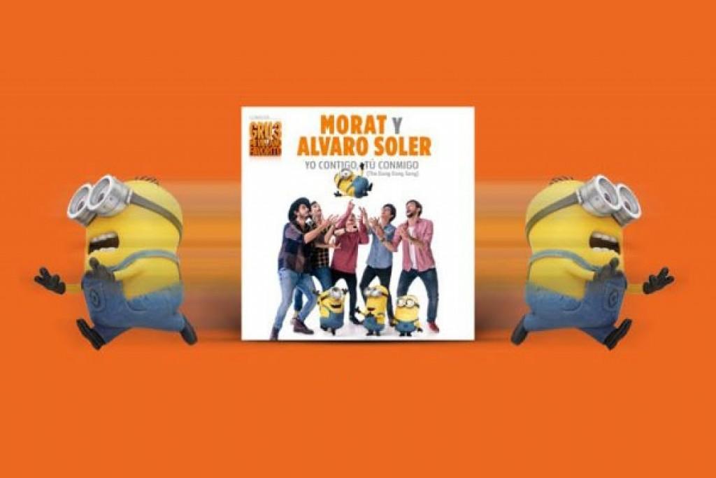 Morat y Alvaro Soler cantan para