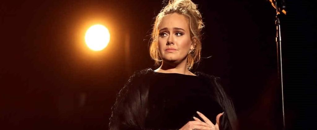 Adele se equivocó durante el homenaje a George Michael