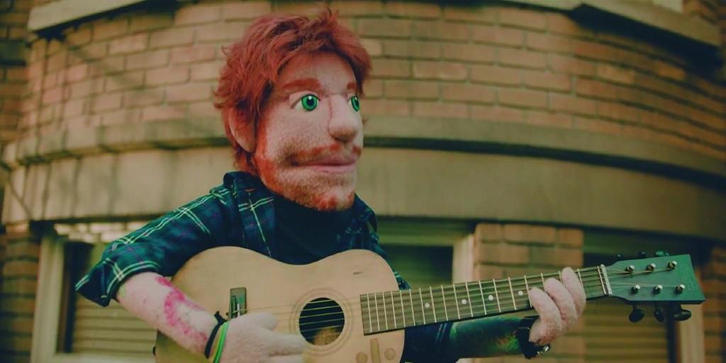 ¡Lo último de Ed Sheeran!