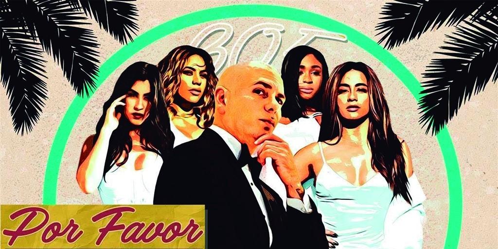 Pitbull estrena un nuevo tema junto a Fifth Harmony, 'Por favor'