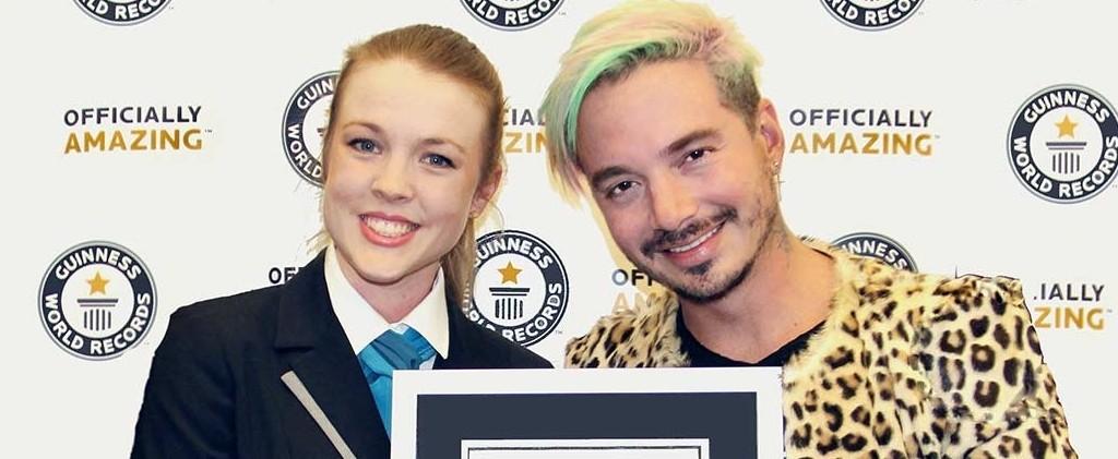J Balvin es reconocido por 'Guinness World Records'