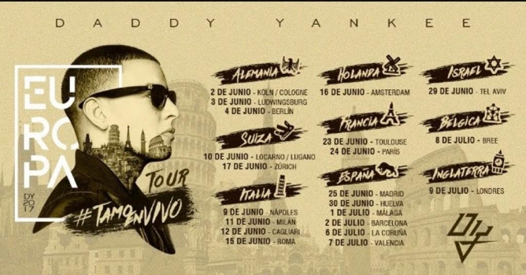 El Rey Indiscutible del Reggaeton, Daddy Yankee, arranca su gira #TamoEnVivo