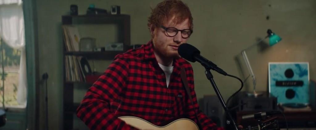 Ed Sheeran regaló nueva canción