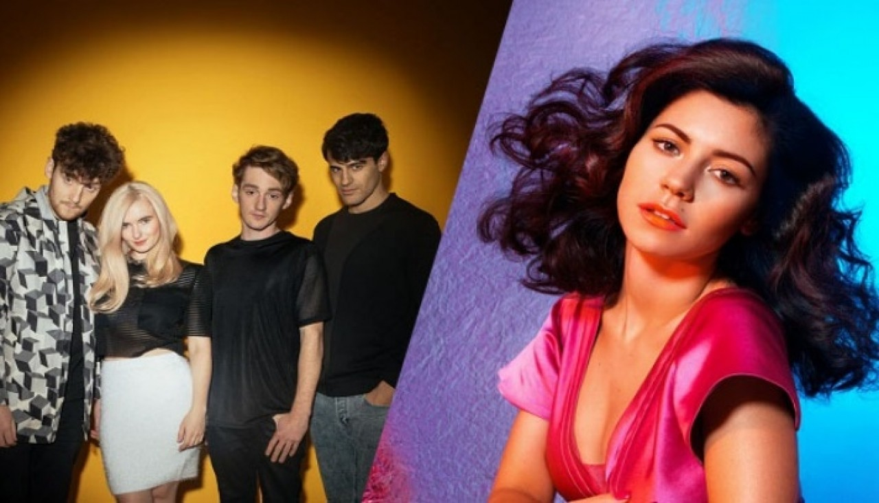 "Clean Bandit y Marina and The Diamonds en ""Disconnect"""