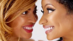 "Nicki Minaj y Beyoncé atrevidas en vídeo ""Feeling Myself"""