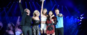 Taylor Swift compone tema para 'Little Big Town'