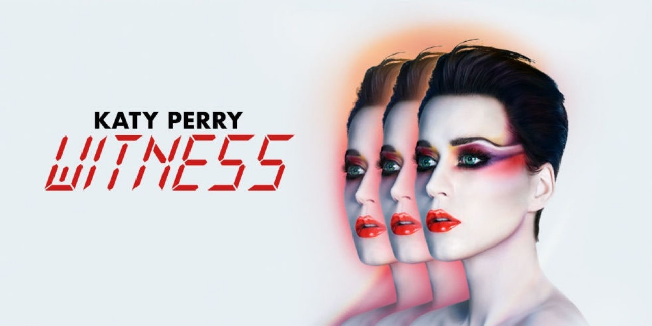 ¡Katy Perry es #1 con Witness!