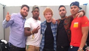 Rudimental y Ed Sheeran