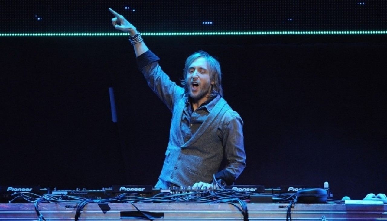David Guetta multitudinario