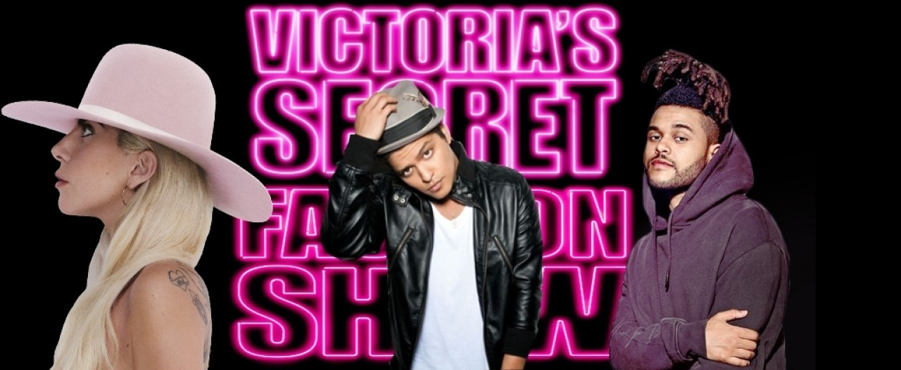 Bruno Mars, Lady Gaga y The Weeknd en el desfile 'Victoria Secret'