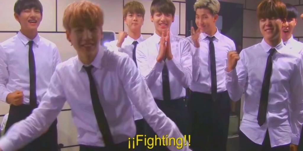 BTS saluda a los fans de Argentina
