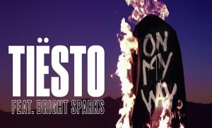 "Tiësto estrena ""On My Way"" feat. Bringht Sparks"
