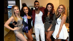 Little Mix y Jason Derulo juntos en el vídeo de Secret Love Song