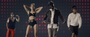 Will.i.am y Miley Cyrus estrenan videoclip del sencillo Feelin' Myself