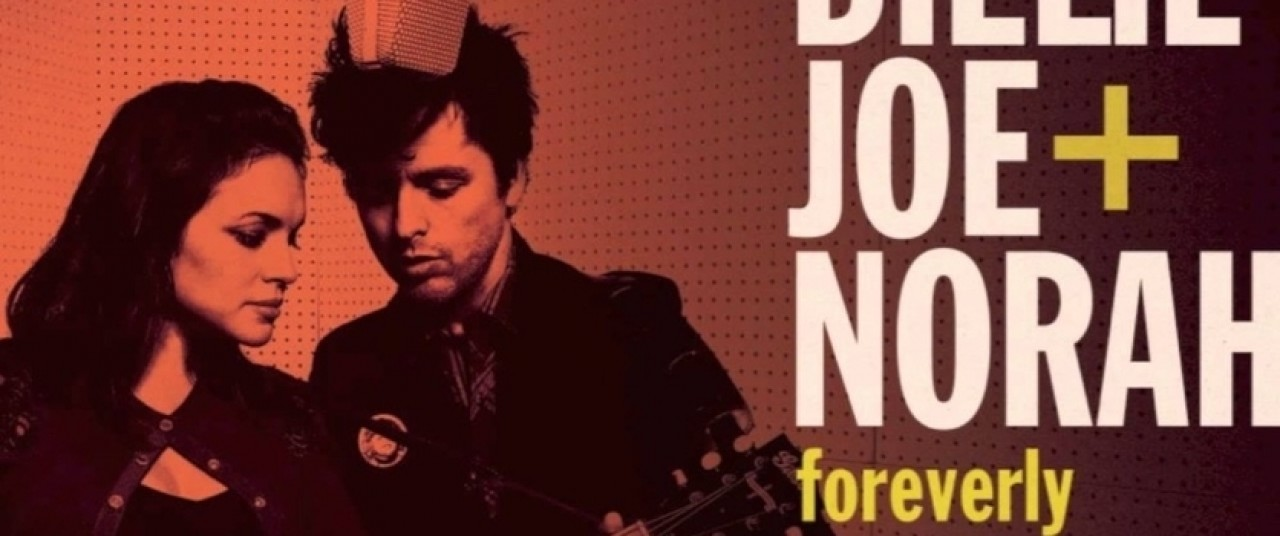 Norah Jones y el vocalista de Green Day graban juntos
